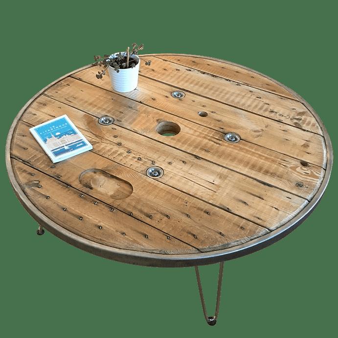 Table touret personnalisée avec graphisme ! - Atelier Pyli